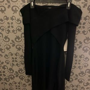 Black Tobi Sweater Dress, New With Tags